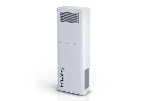 Disponibile DVS, il deumidificatore verticale ideale per piscine di piccole dimensioni