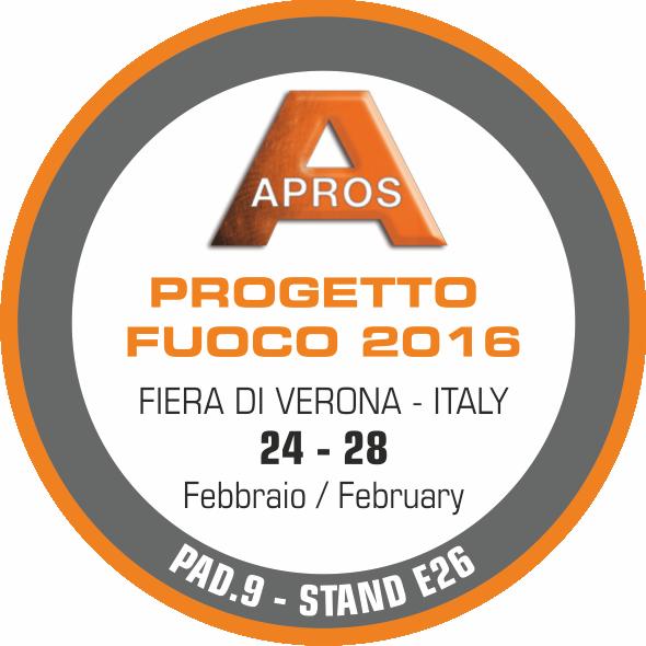 Apros a Progetto Fuoco 2016: qualità e tecnologia si mettono in mostra