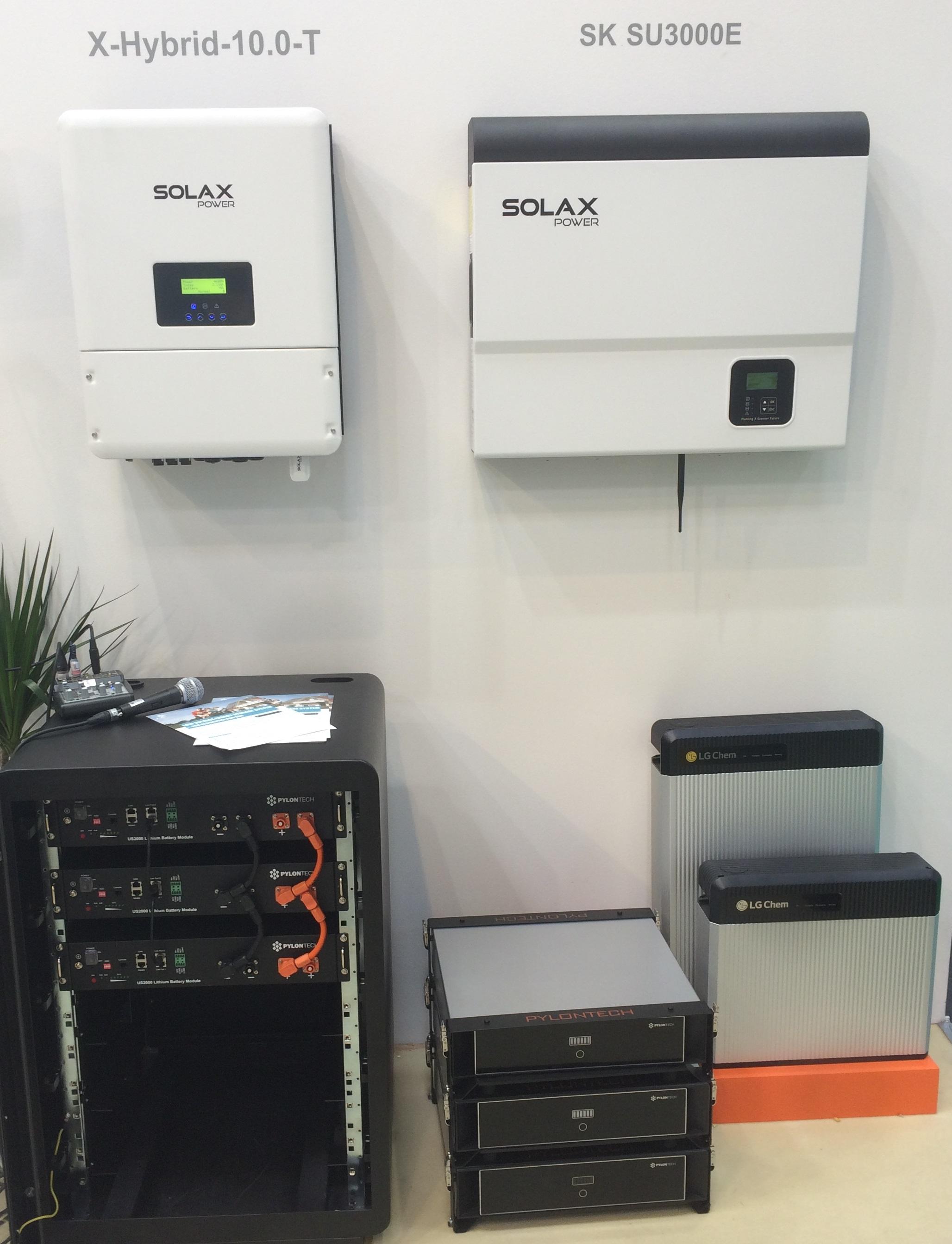 Inverter Trifase Ibridi CEI 021 per accumuli al litio Solax X‐Hybrid Serie T ‐ La nuova generazione di inverter trifase, per il futuro di oggi.