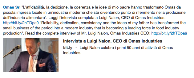Intervista a Luigi Nalon, CEO di Omas Industries
