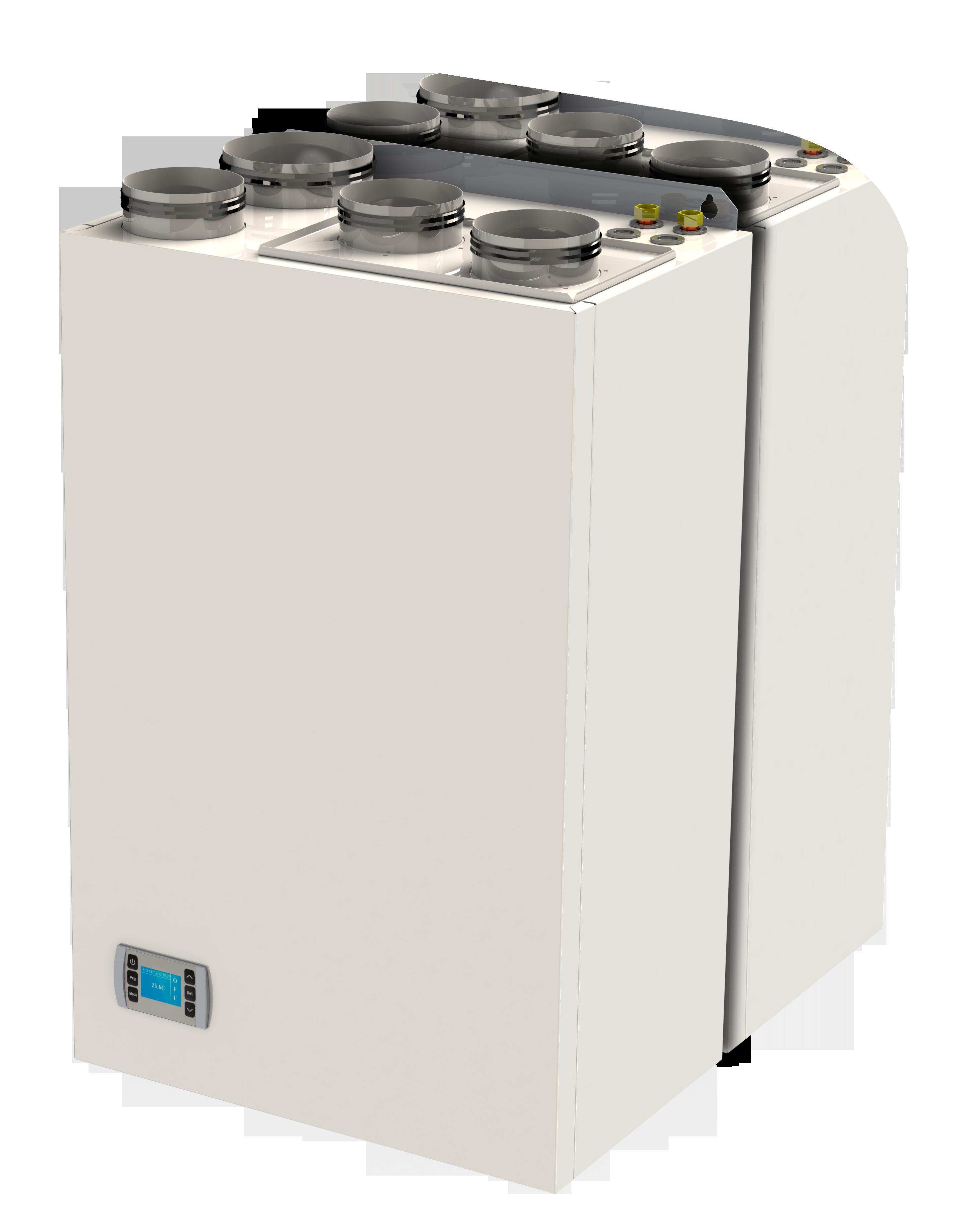 REV: l'innovativo deumidificatore con rinnovo d'aria in versione verticale anche da incasso