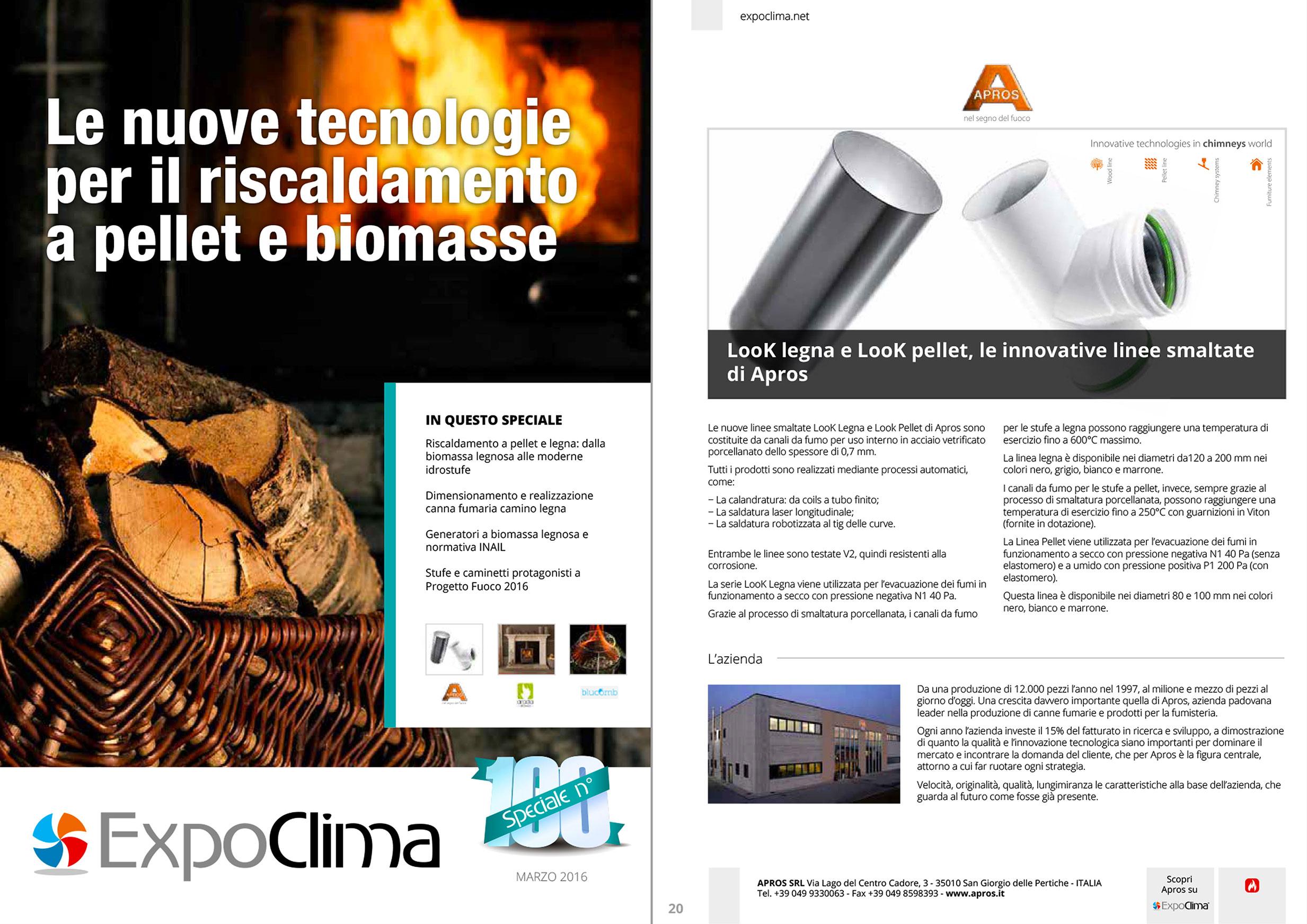 Le nuove tecnologie per il riscaldamento a pellet e biomasse