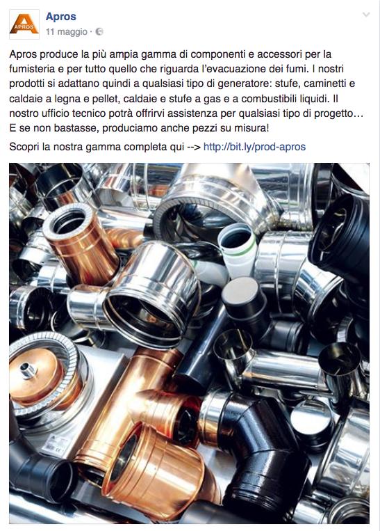 gamma di componenti e accessori