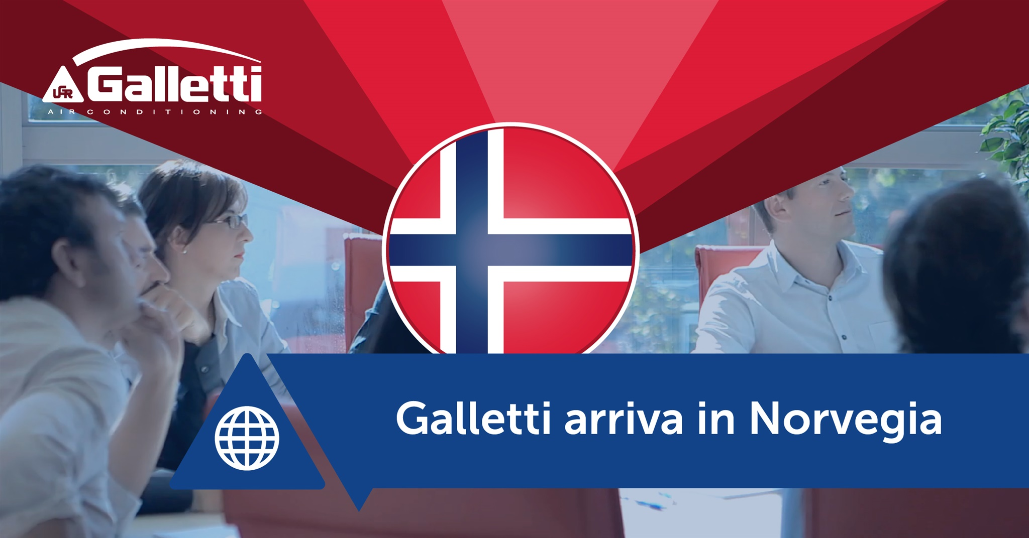 Filiale Galletti in Norvegia