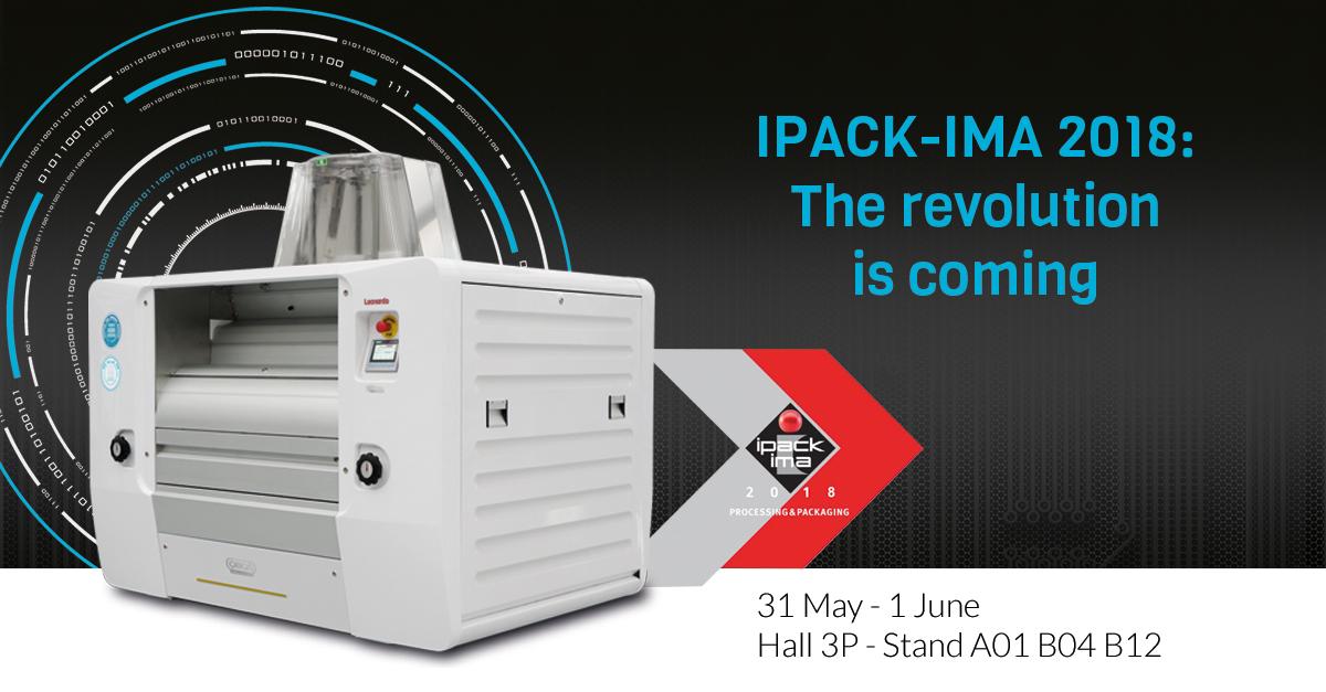 OMAS protagonista a IPACK-IMA, la più importante fiera per il process packaging food e non food