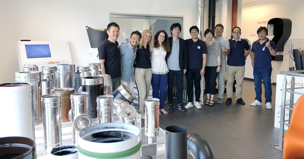 The passion for Apros reaches the Far East: thanks to Tokyopellet for their visit!