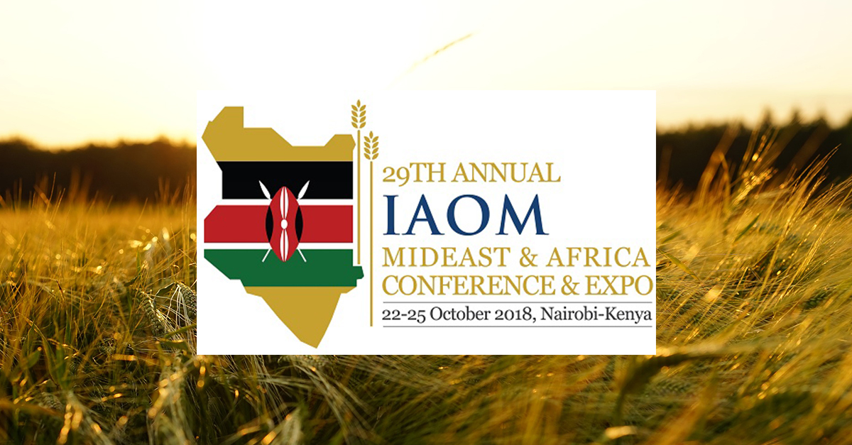 IAOM Mideast & Africa Conference & Expo: Omas technology is on its way to Nairobi