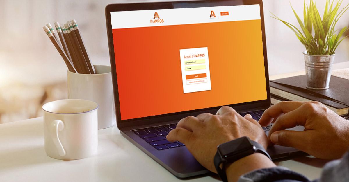 È online MYAPROS: nasce la nuova area riservata dedicata a clienti e agenti