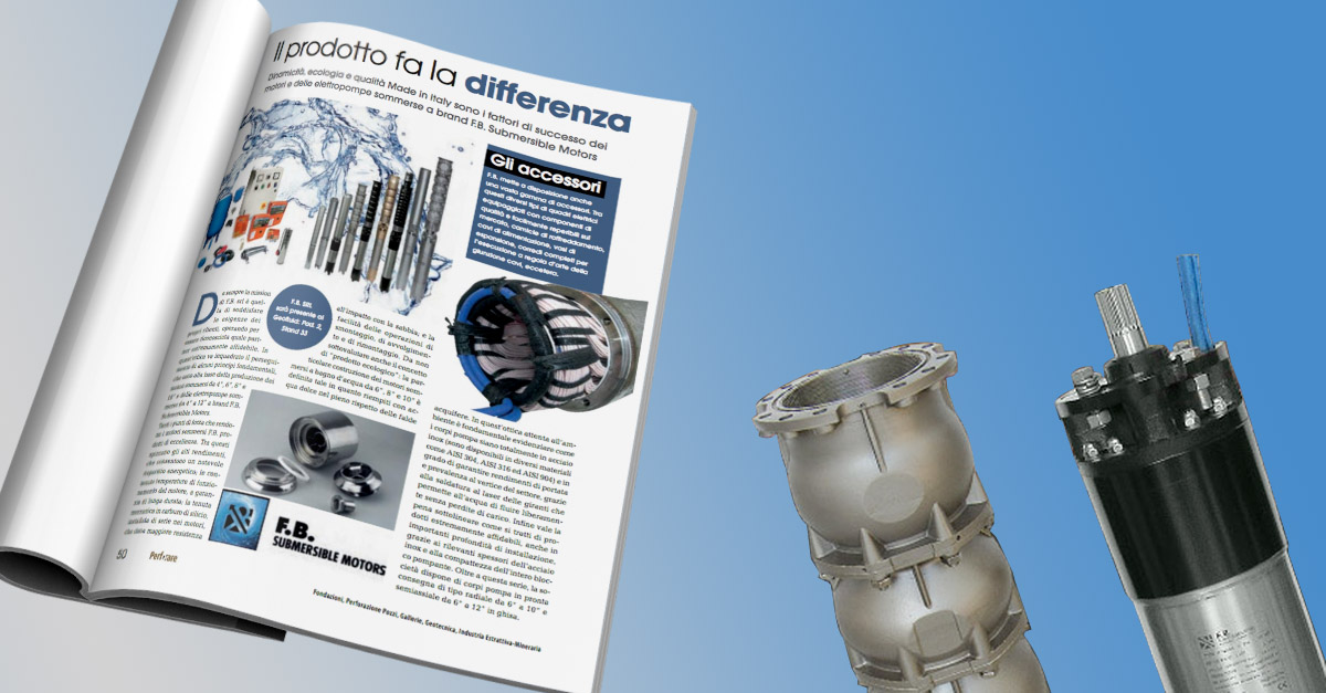 Perforare parla di F.B. Submersible Motors!