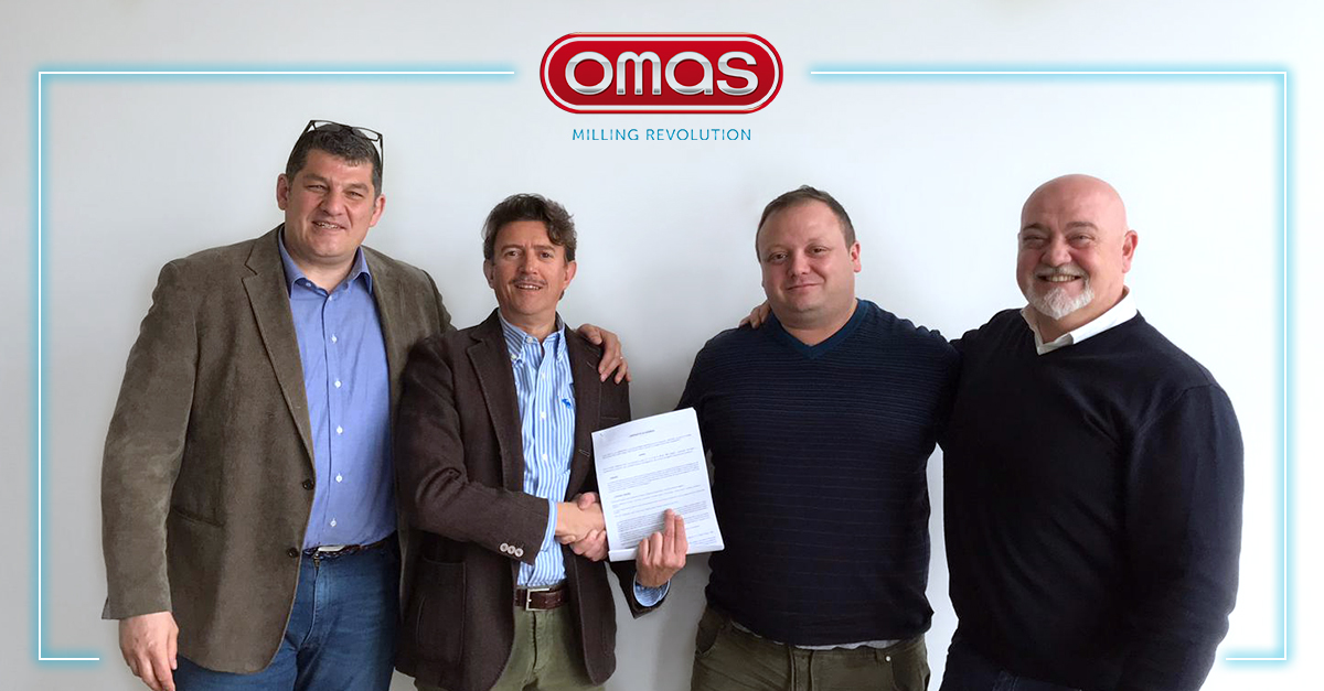 Omas signs the new commercial agreement with FAVA LATINO AMERICA