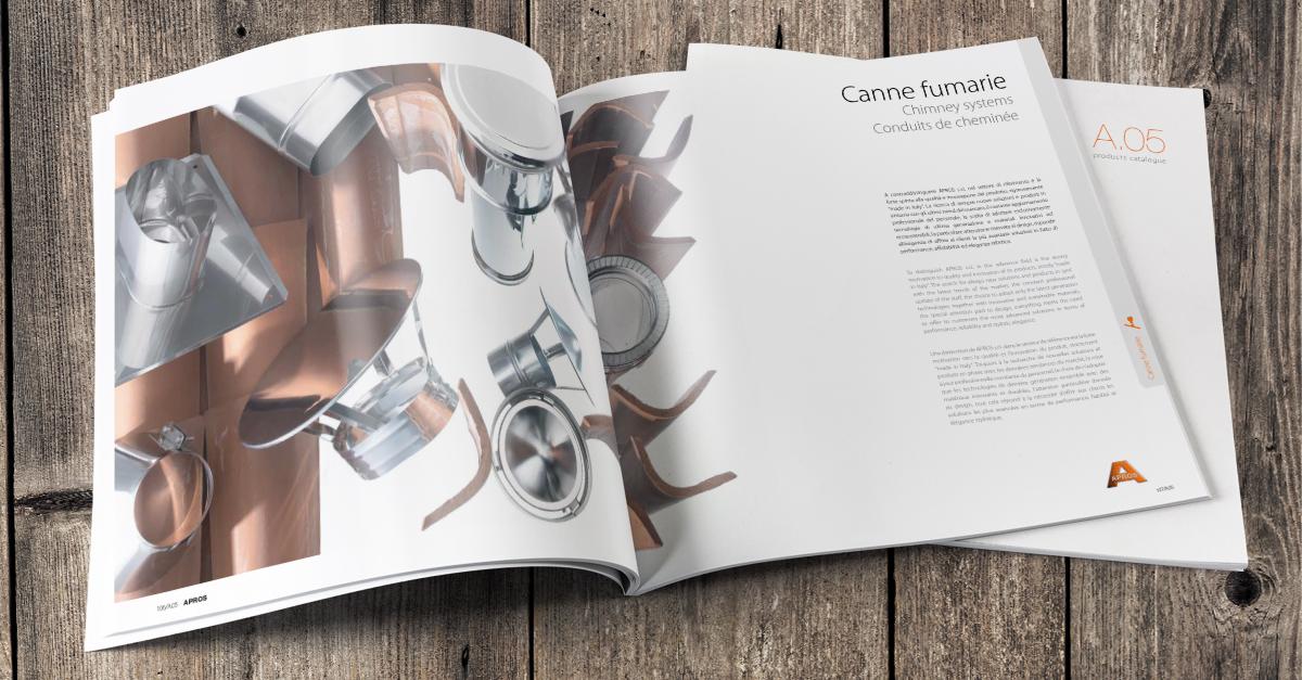 È disponibile il nuovo catalogo Apros A.05, richiedi la tua copia cartacea!