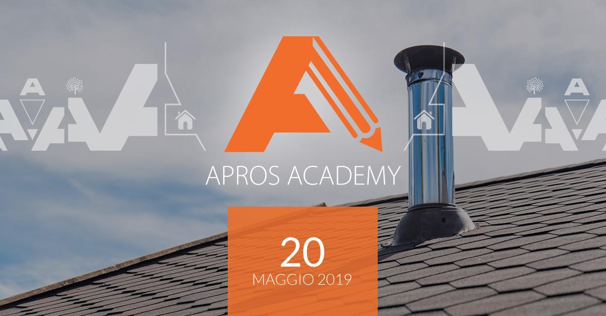Terzo appuntamento con Apros Academy: corso Installazione e intubamento canne fumarie