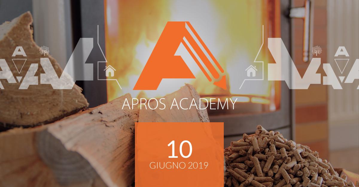 Apros Academy: Ultimo appuntamento per il 2019! Il 10 giugno corso sul Dimensionamento camini e calcolo distanza da materiali combustibili