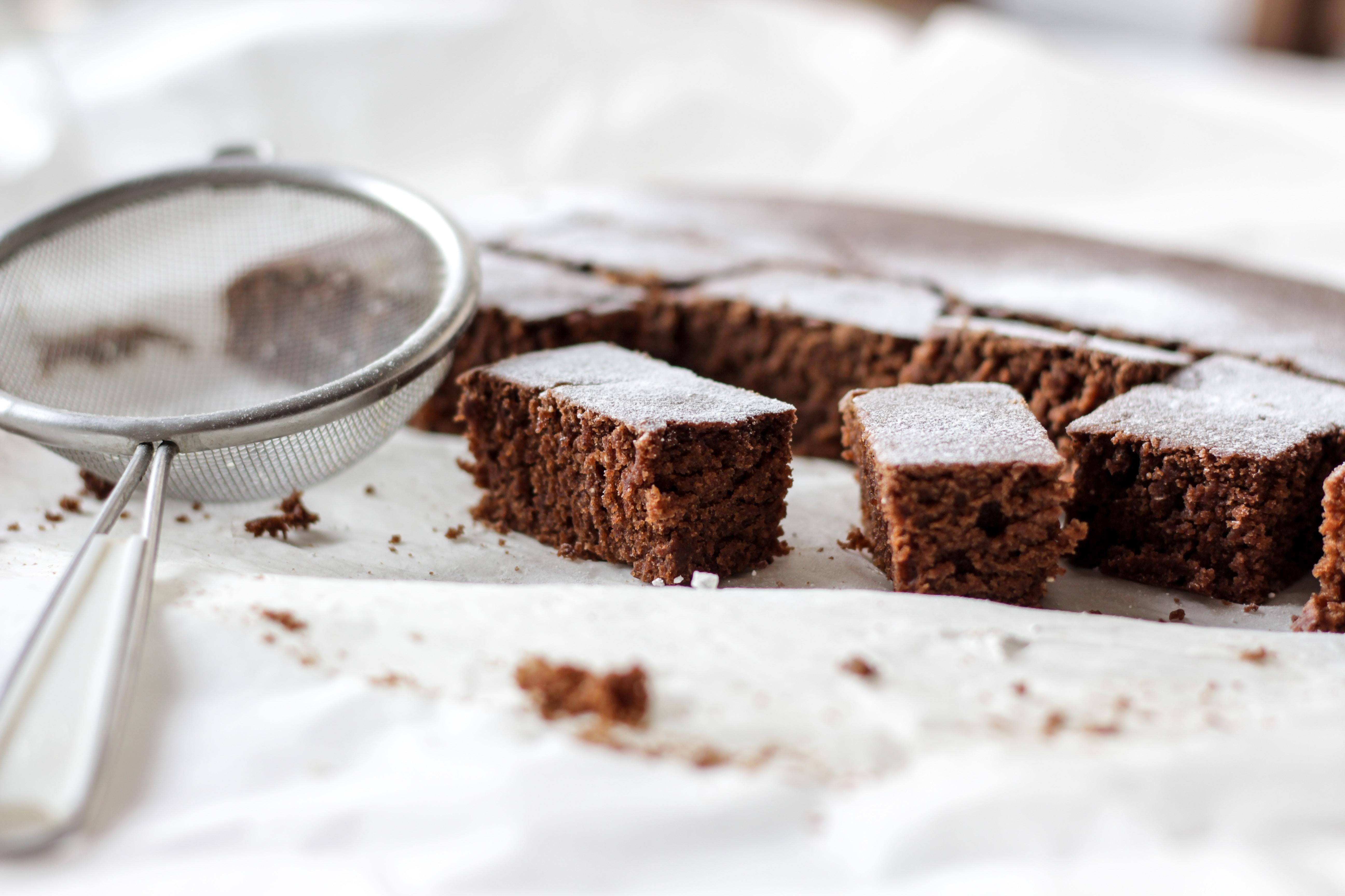Torta di orzo mondo al cioccolato