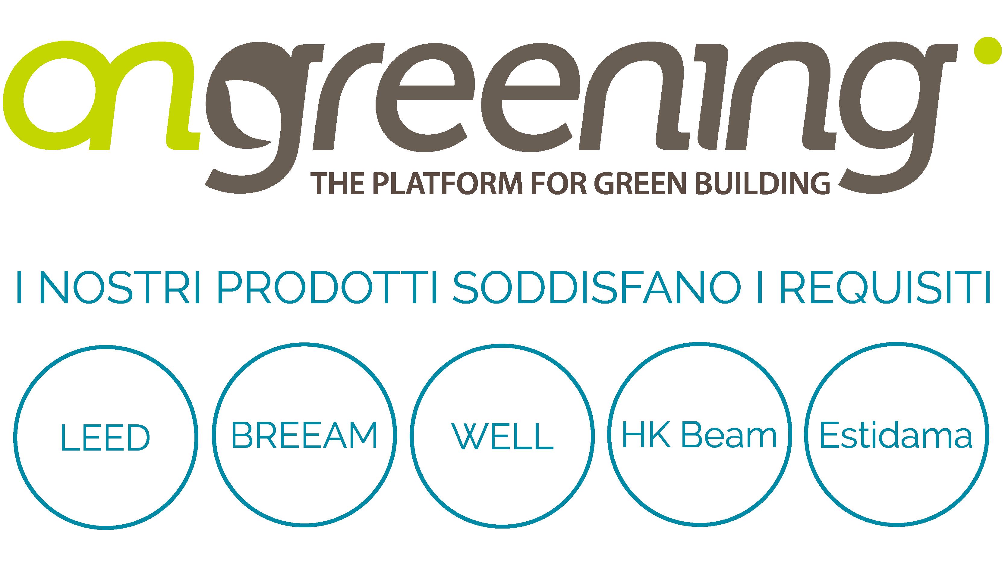 Ongreening® e ProductMAP® logo
