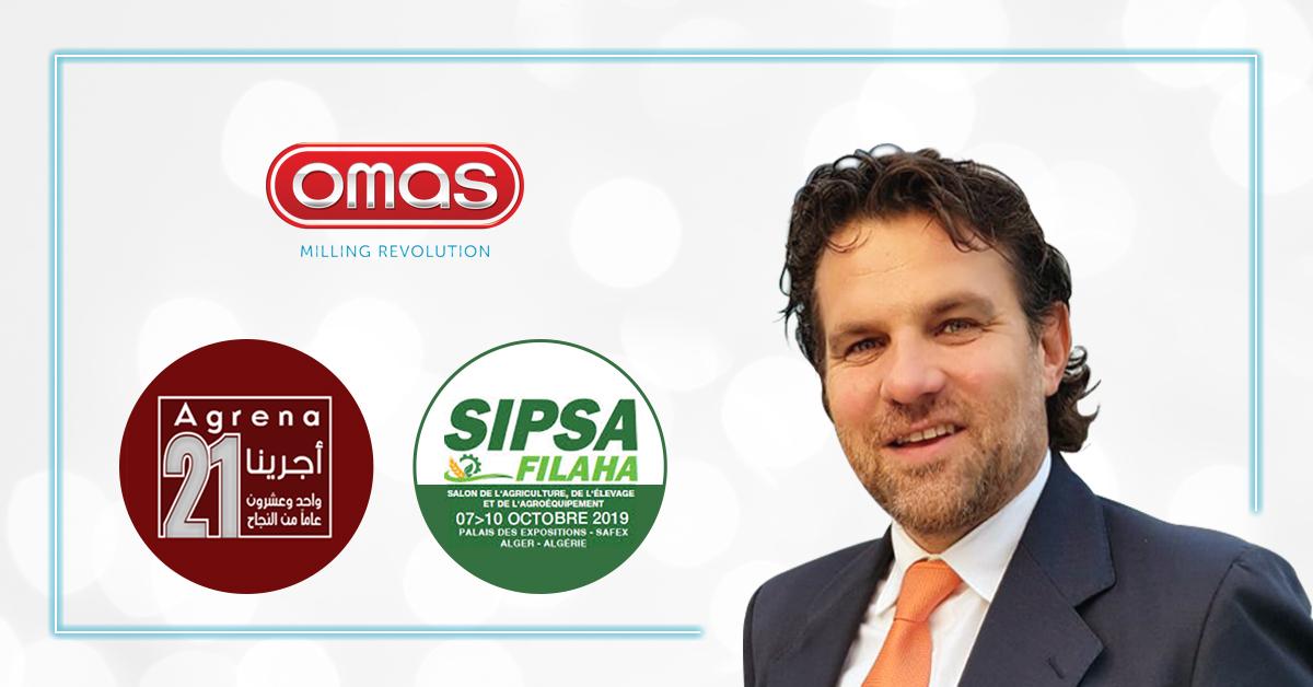Simone Malachin et le nouveau Responsable Régional des Ventes de Omas Industries pour la région des Caraïbes