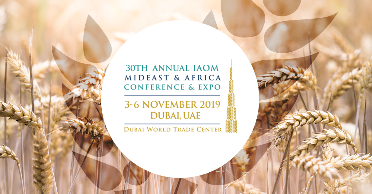 IAOM Mideast & Africa Region: Omas will present the comparison between the Direct Drive KERS roller mill and the traditional belt driven roller mill