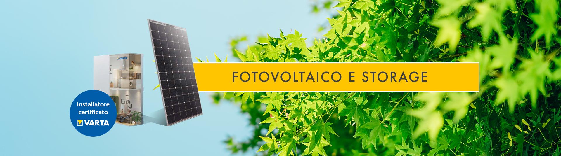 Fotovoltaico & Storage
