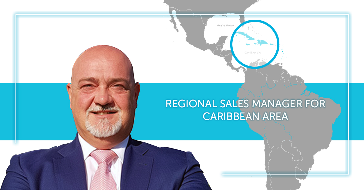 Simone Malachin is the new Omas Industries Regional Sales Manager for the Caribbean area
