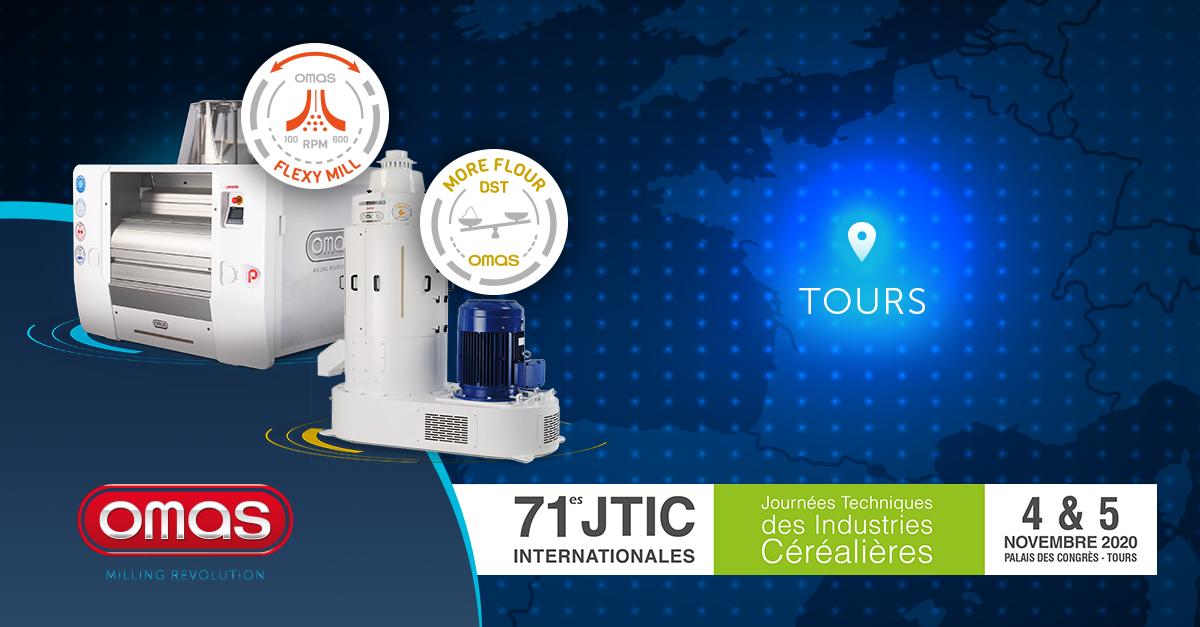 Omas a JTIC: alle giornate tecniche francesi verranno presentate le nuove tecnologie DST e FLEXY-MILL