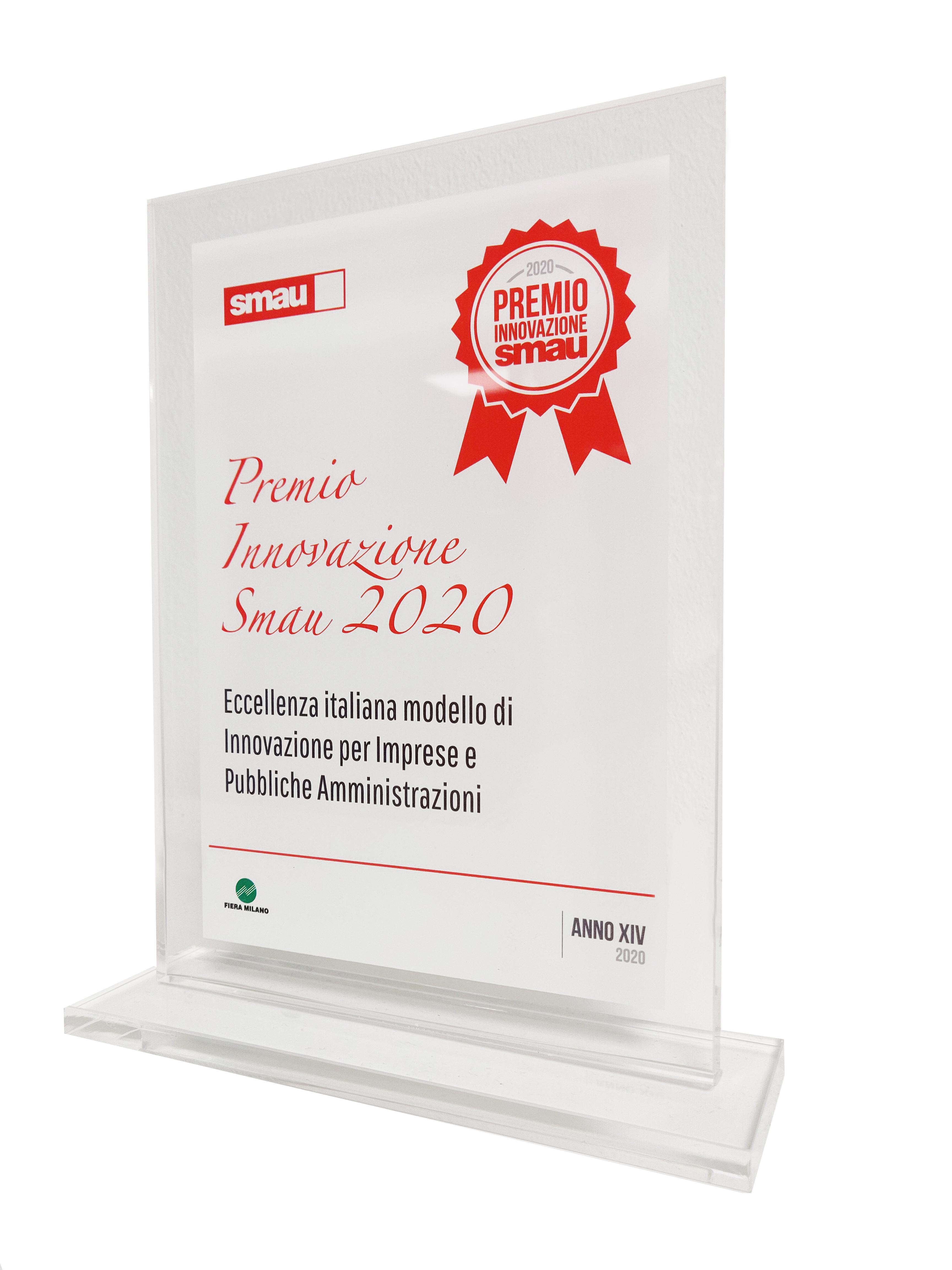 Energy vincitore del Premio Innovazione SMAU