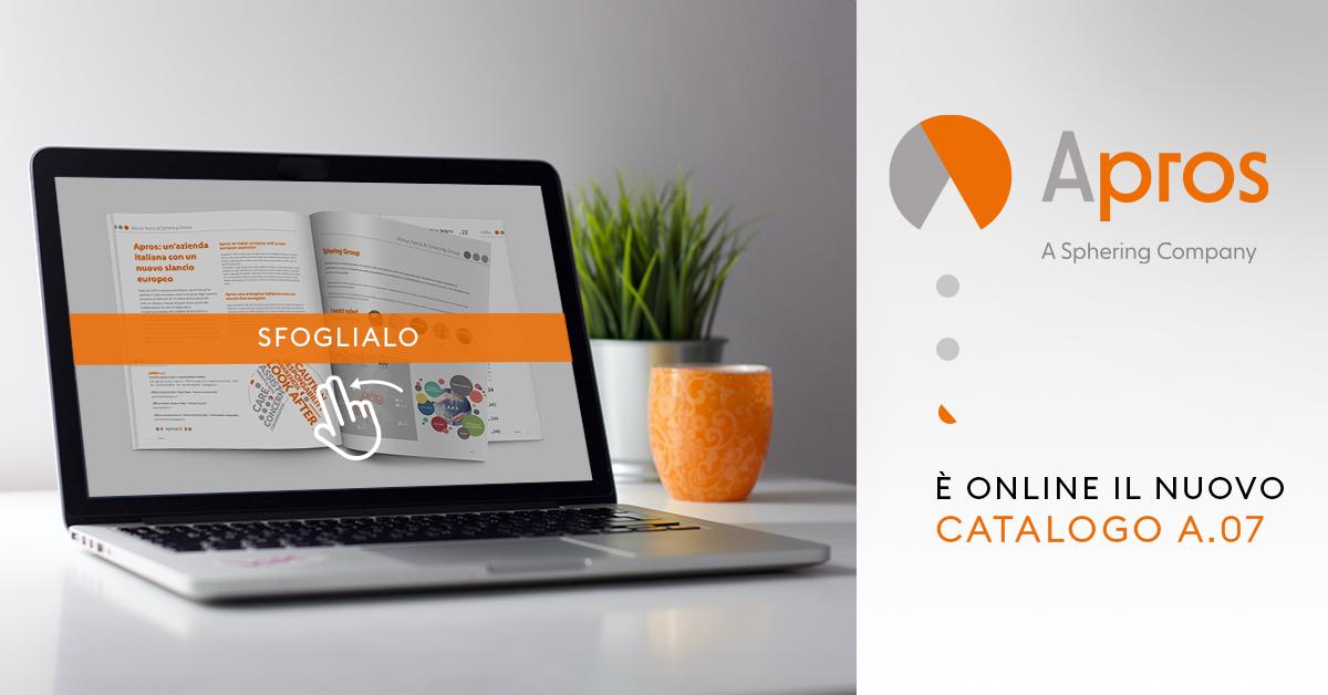Scopri il nuovo Catalogo Apros nella sua rinnovata versione A.07: un aggiornamento che consolida l'anima sostenibile e digitale dell'azienda