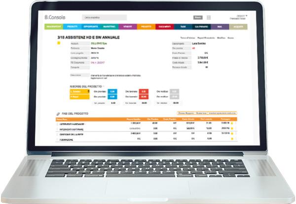 Condividi specifiche e documenti di ogni progetto