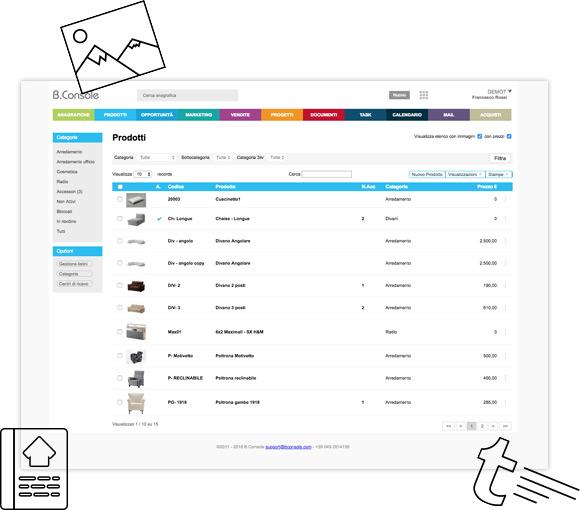 Predisponi il tuo catalogo prodotti per realizzare offerte e ordini con estrema facilità
