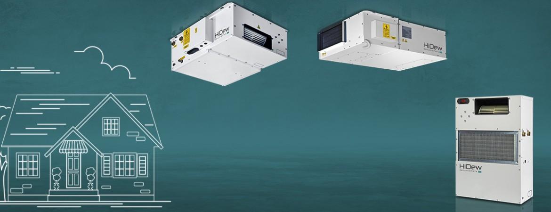 Le soluzioni ideali per la deumidificazione e la ventilazione degli ambienti residenziali Le soluzioni ideali per la deumidificazione e la ventilazione degli ambienti residenziali