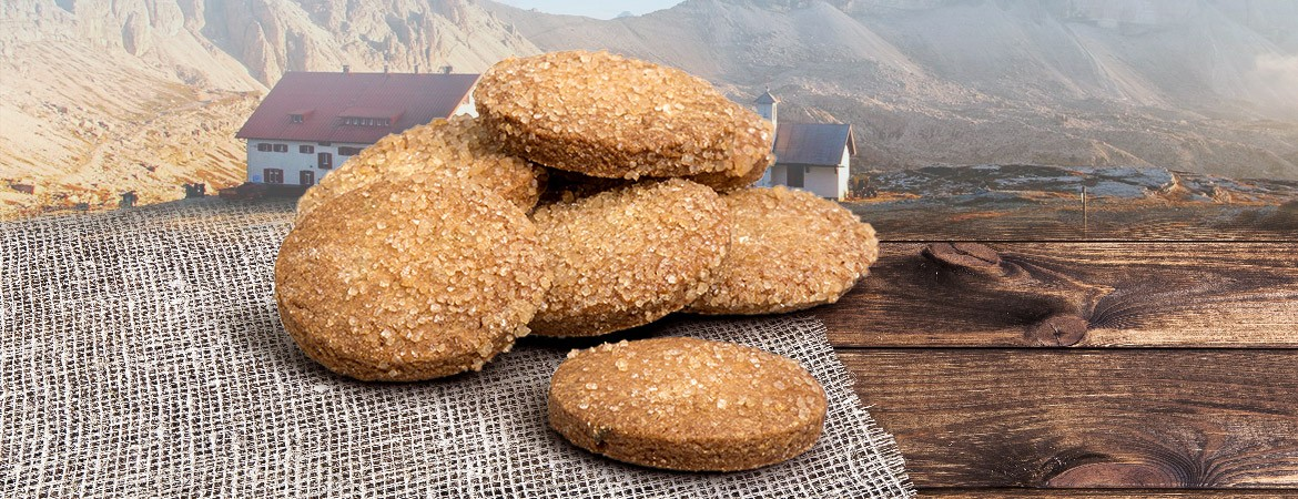 BISCUITS WITH NUCLEO® PUCCIA DELLE DOLOMITI