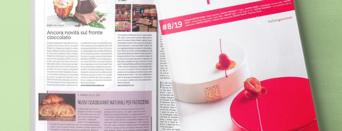 """IL PASTICCERE"" MAGAZINE – ARTICLE (NOV/DEC 2019)"