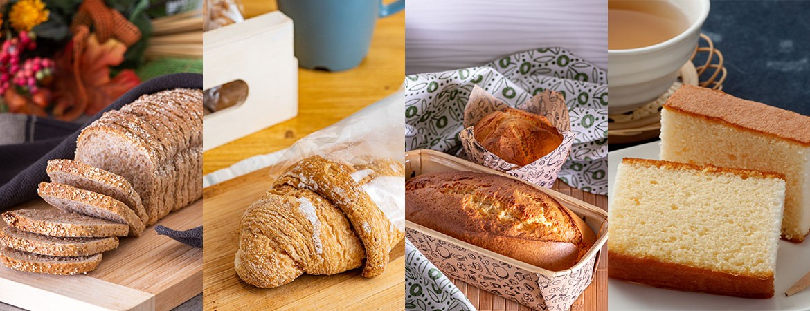 New enzymatic improvers for industry: from wholemeal bread to packaged cakes