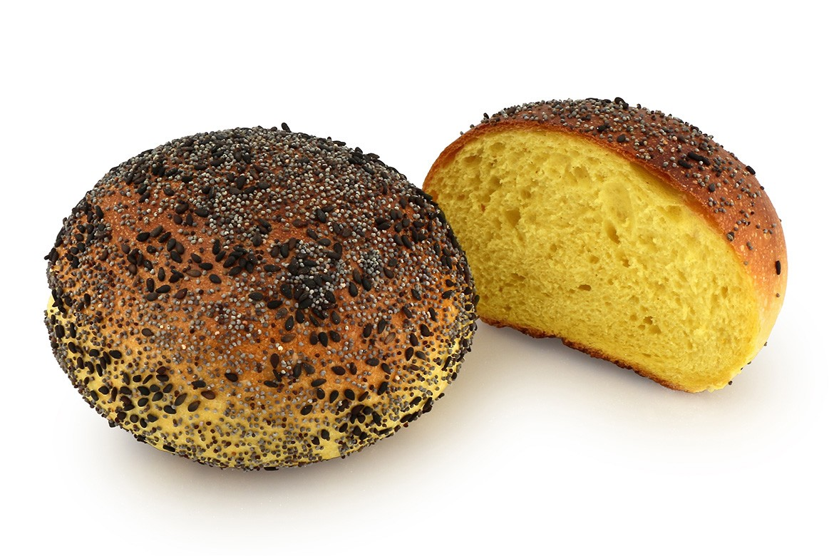 black sesame and poppy
