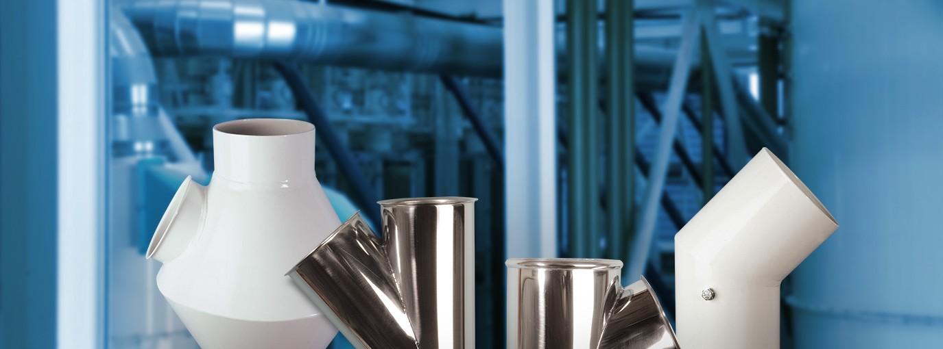 Costruzione di tubazioni e componenti per l'industria molitoria