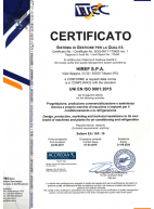 Certificate of conformity - Quality management system (ISO 9001:2015)
