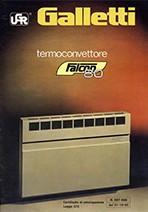 Termoconvettore Falcon 80