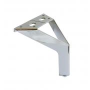 Piedini in alluminio New Siena - cromato