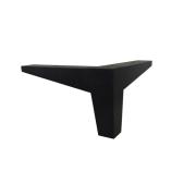 Leg with chrome border angular L008
