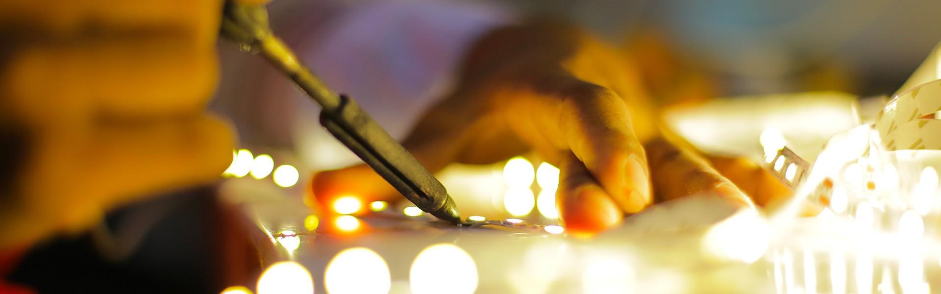 Servizio di rigenerazione LED