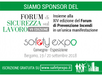 SAFETY & EXPO - Bergamo - Italy - 19-20 September 2018