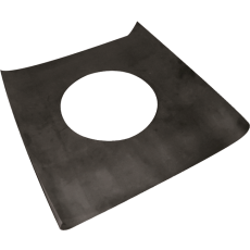 Plate in EPDM with adhesive base