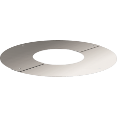Round finishing plate