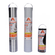 Flexible pipe in aluminium