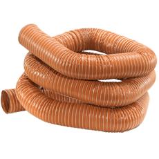 Gaine flexible rouge en silicone pour hautes temperatures -70°C +270°C