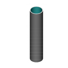 Isolation en feutre aiguilleté avec fibre de verre-silice résistant jusqu'à 1000 °C