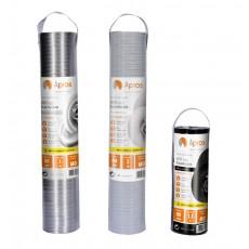 Flexible pipe in aluminium