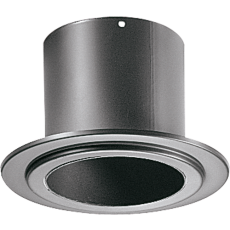Wall pipe-fitting with ring