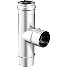 """90° """"T"""" pipe fitting male-female"""