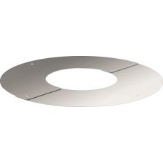 Plaque ronde de finition réglable