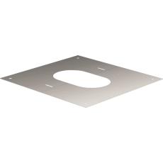 Plaque carrée de finition de 0° à 30°